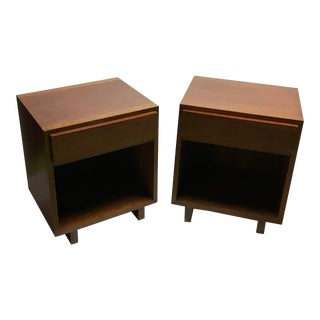 John Widdicomb Mid-Century Modern Nightstand - a Pair For Sale