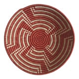 Image of African Contemporary Red Basket For Sale