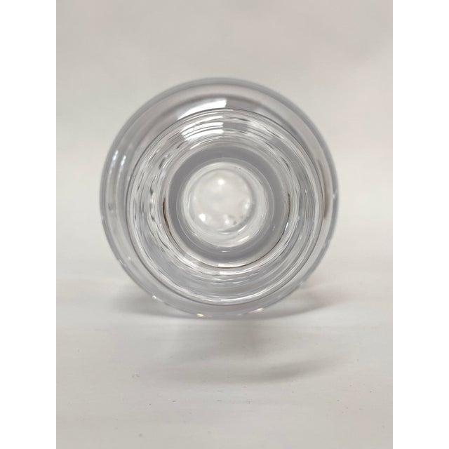 Glass 1960s Scandinavian Modern Minimalist Glass Decanter by Ronald Stennett Willson for Wedgwood For Sale - Image 7 of 12