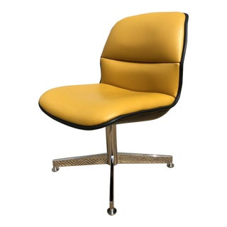 Mid Century Modern All-Steel Inc Executive Swivel Desk Chair For Sale