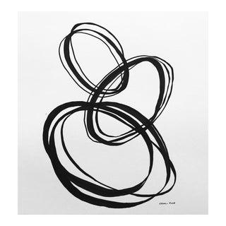 "Christy Almond ""Balanced Circles I I I"" Original Drawing For Sale"