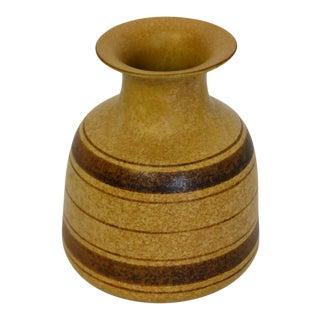 Stoneware Striped Vase For Sale