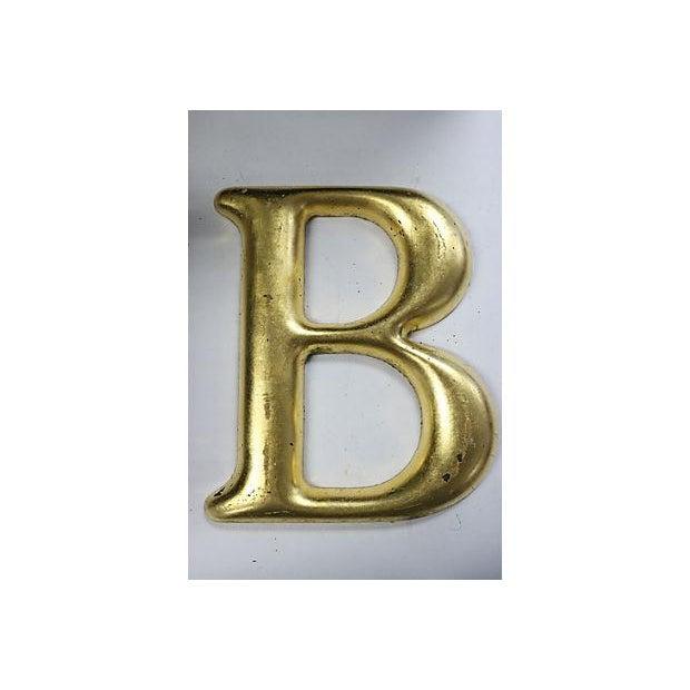 "Vintage English Pub Sign Letter ""B"" - Image 2 of 3"