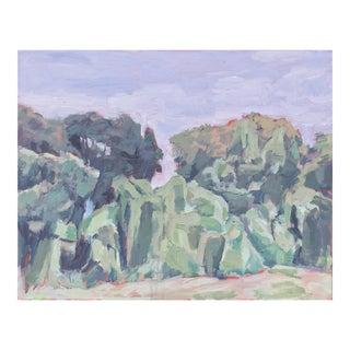 Kudzu Landscape Series 08 by Daniel Kelly Painting