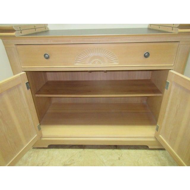 Wood Bernhardt Flip Top Server Bar For Sale - Image 7 of 9