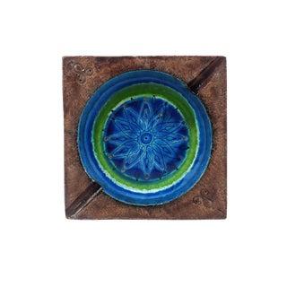 Vintage Bitossi Ceramic Ashtray For Sale