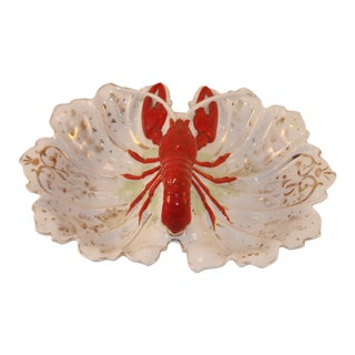 1940s Vintage Lobster Dish For Sale