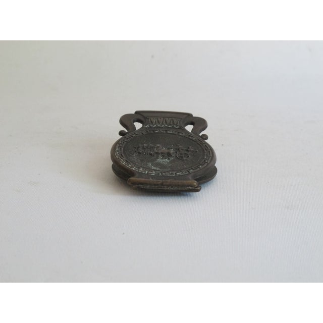 Grecian Style Brass Clip For Sale - Image 4 of 8