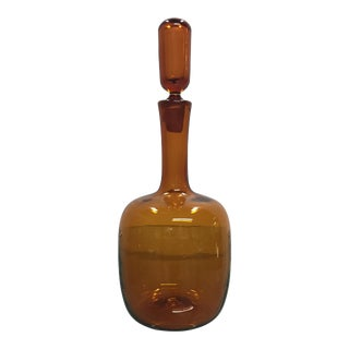 Blenko Art Glass Decanter For Sale
