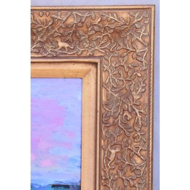 Green Juan Guzman, Santa Barbara Landscape Seascape Oil Painting For Sale - Image 8 of 10