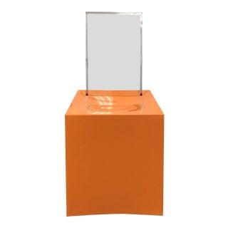 Kartell Philippe Starck Orange Miss Less Chair For Sale