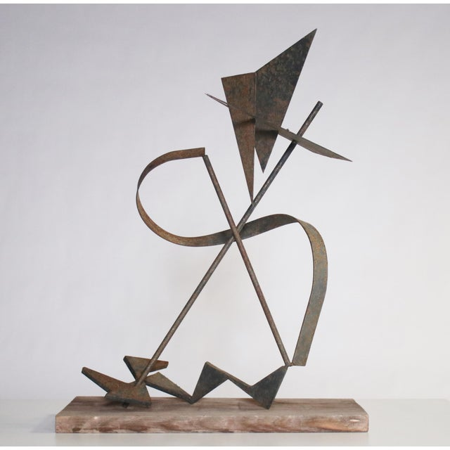 Abstract Calder-Style Brutalist Sculpture For Sale - Image 3 of 8