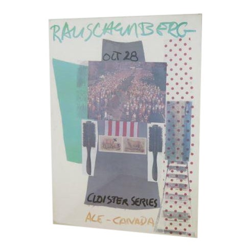 "Robert Rauschenberg Lithograph Poster, ""The Cloister Series,"" 1966 For Sale"