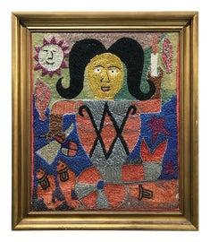 Image of Fabric Textile Art