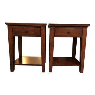 Pottery Barn Valencia Nightstands - A Pair
