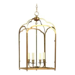 Large Vaughan Lighting Windsor Lantern Chandelier For Sale