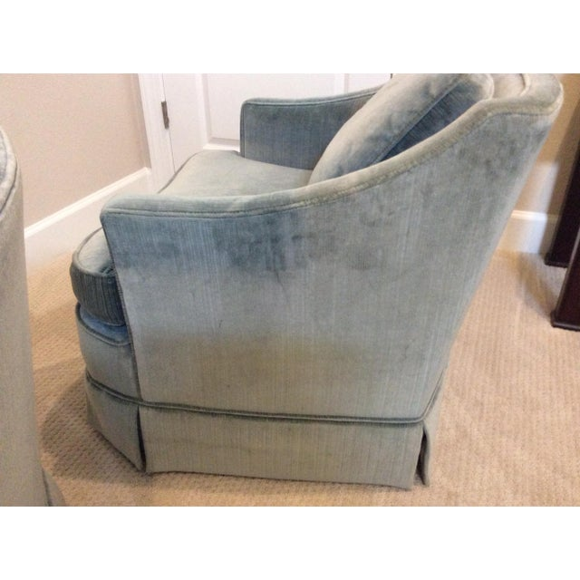 Drexel Heritage 1970s Vintage Drexel Heritage Armchairs - a Pair For Sale - Image 4 of 13