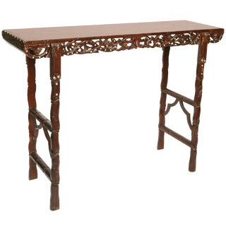 Superb Cantonese Altar Table For Sale