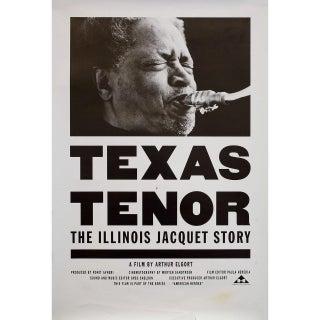 Texas Tenor: The Illinois Jacquet Story 1992 U.S. Mini Film Poster For Sale