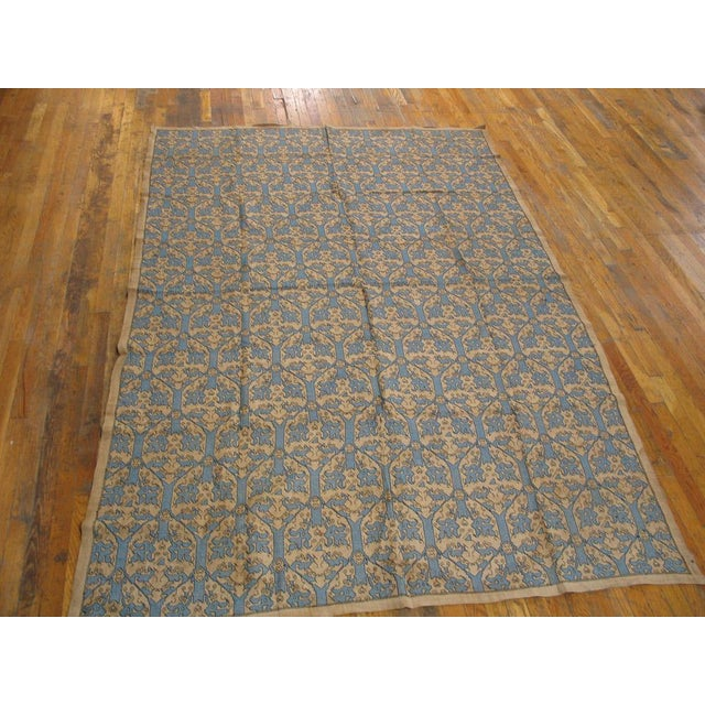 Italian Italian Needlepoint Rug- 5′10″ × 8′8″ For Sale - Image 3 of 5