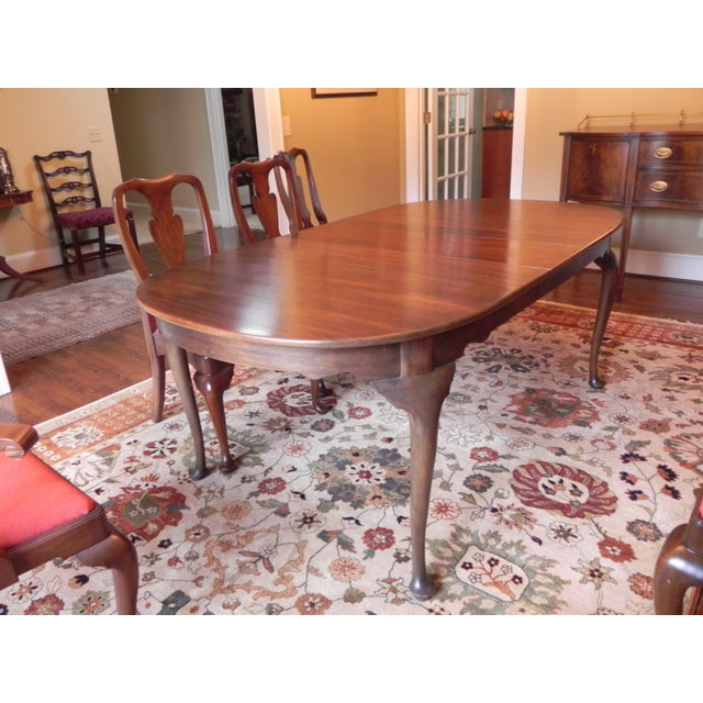 Henkel Harris Queen Anne-Style Dining Set | Chairish
