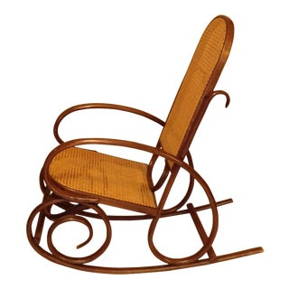 Mid-Century Modern Brentwood Rocking Chair