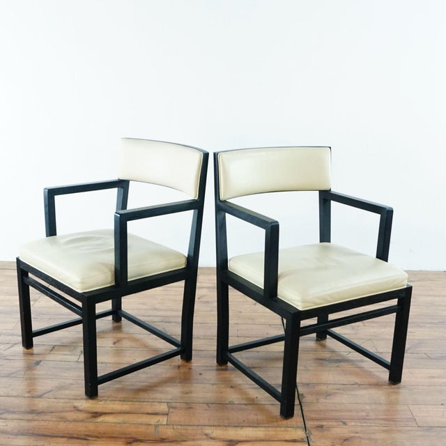 Modern B&b Italia Side Chairs - a Pair For Sale - Image 3 of 11
