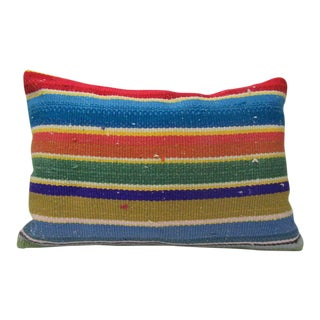 Turkish Colorful Kilim Cushion Cover For Sale