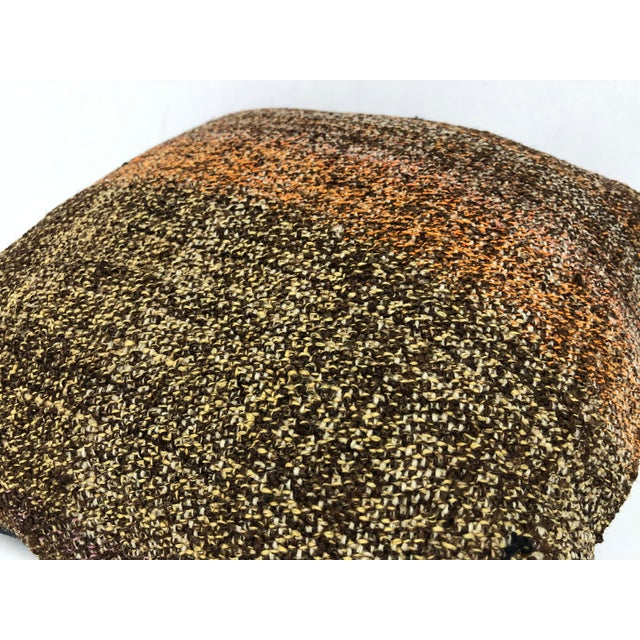 Turkish Turkish Anatolian Ethnic Decorative Traditional Kilim Cushion Cover For Sale - Image 3 of 6