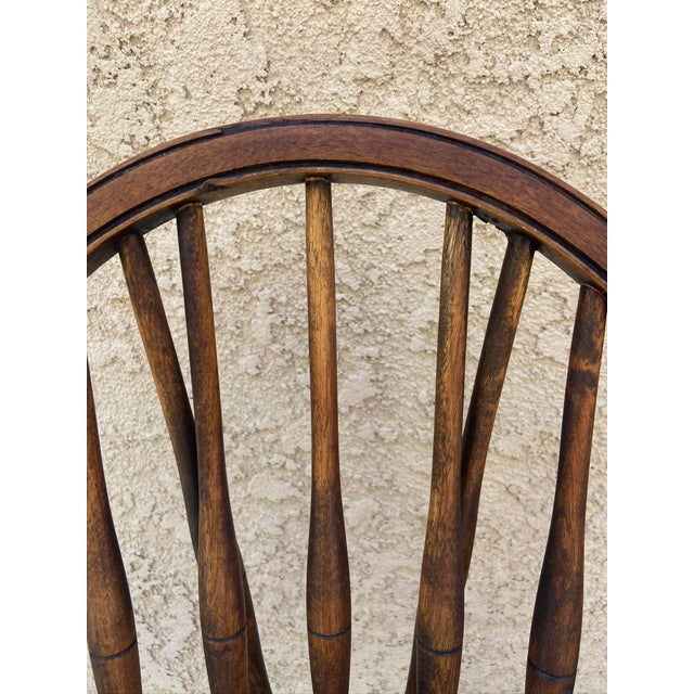 Antique Windsor Side Chair For Sale - Image 11 of 12