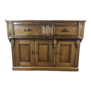 Vintage Pine Sideboard