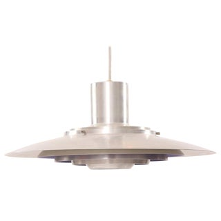 Fabricius & Kastholm Aluminum Hanging Lamp For Sale