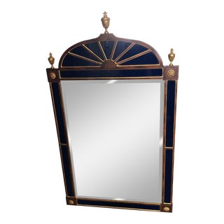 Vintage French Regency Style Rosewood Mirror