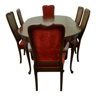Hickory Chair Co. Dining Room Set For Sale