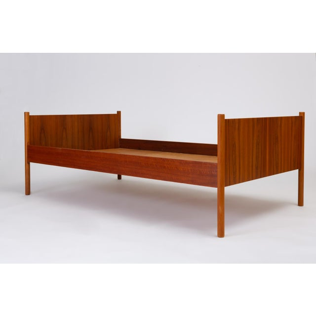 Westnofa Furniture Single Scandinavian Modern Twin Bed by Westnofa For Sale - Image 4 of 13