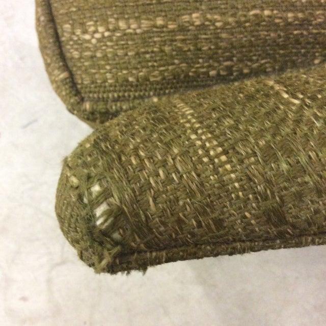 Textile Richardson Nemschoff Horshoe Shaped Chairs - a Pair For Sale - Image 7 of 13