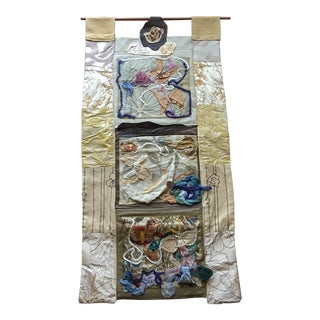 Contemporary Textile Wall Hanging For Sale