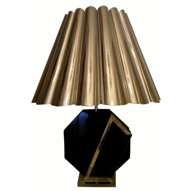 Vintage Van Teal Table Lamps - A Pair For Sale In Miami - Image 6 of 6