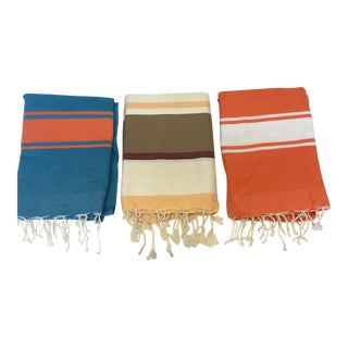 Tunisian Fouta Towels - Set of 3
