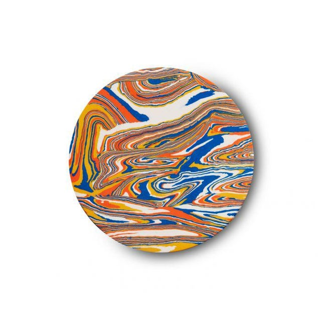 Swirl, a mysterious new material that resembles 3D marbled paper yet has the weight of stone. Our new Swirl hooks...