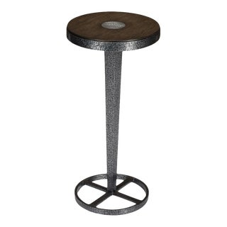 Great Mix Drink Table, Artisan Grey For Sale