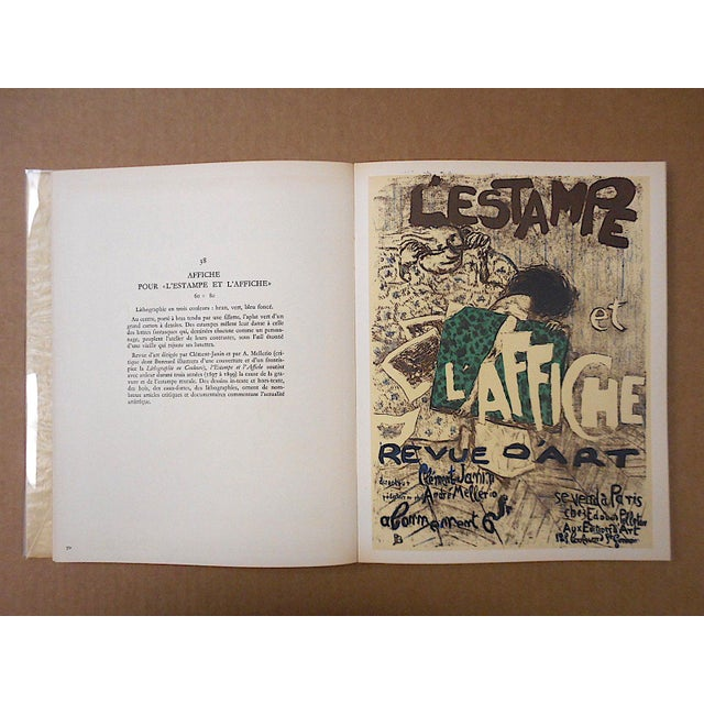 """Vintage Mid Century Illustrated Book-""""Bonnard Lithographie""""-First Edition-Profusely Illustrated For Sale In Cincinnati - Image 6 of 12"""