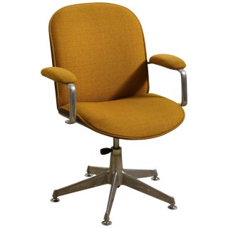 Swivel Office Chairs of 'Terni' Series With Armrests by I. Parisi for Mim, Roma For Sale