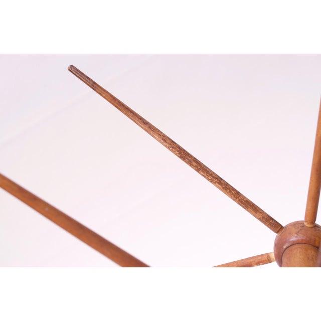 Vintage Primitive Yarn Winder / Yarn Swift For Sale - Image 12 of 13