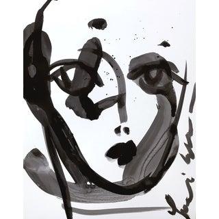 Black Splash Face by Leslie Weaver