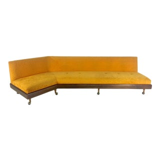 Mid Century Adrian Pearsall Angled Sofa For Sale
