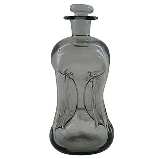 Jacob Bang Holmegaard Glass Decanter For Sale