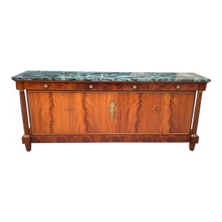 1900s French Empire Antique Sideboard For Sale