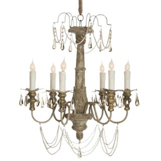Aidan Gray 'Forli' Crystal Chandelier For Sale