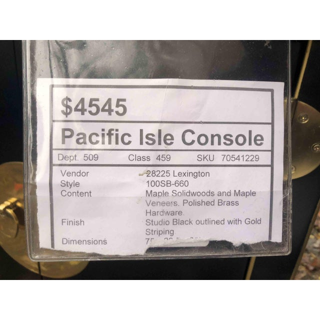 Modern Sligh Pacific Isle Console For Sale - Image 11 of 12